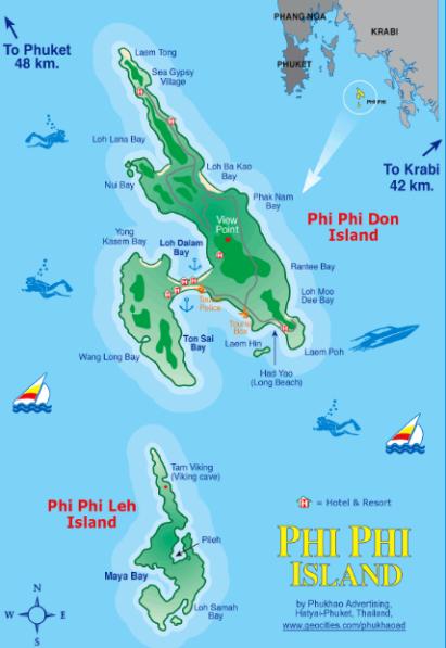 mapa phi
