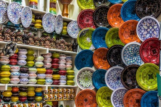 Tunez-Medina-Puesto-Zoco-Ceramica